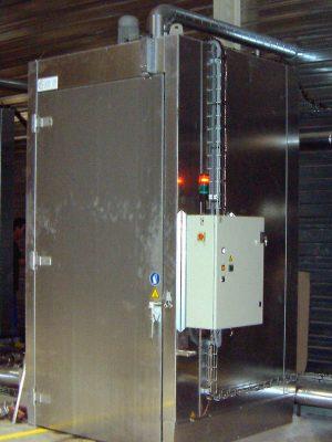 Chambre chaude verticale Thitec production