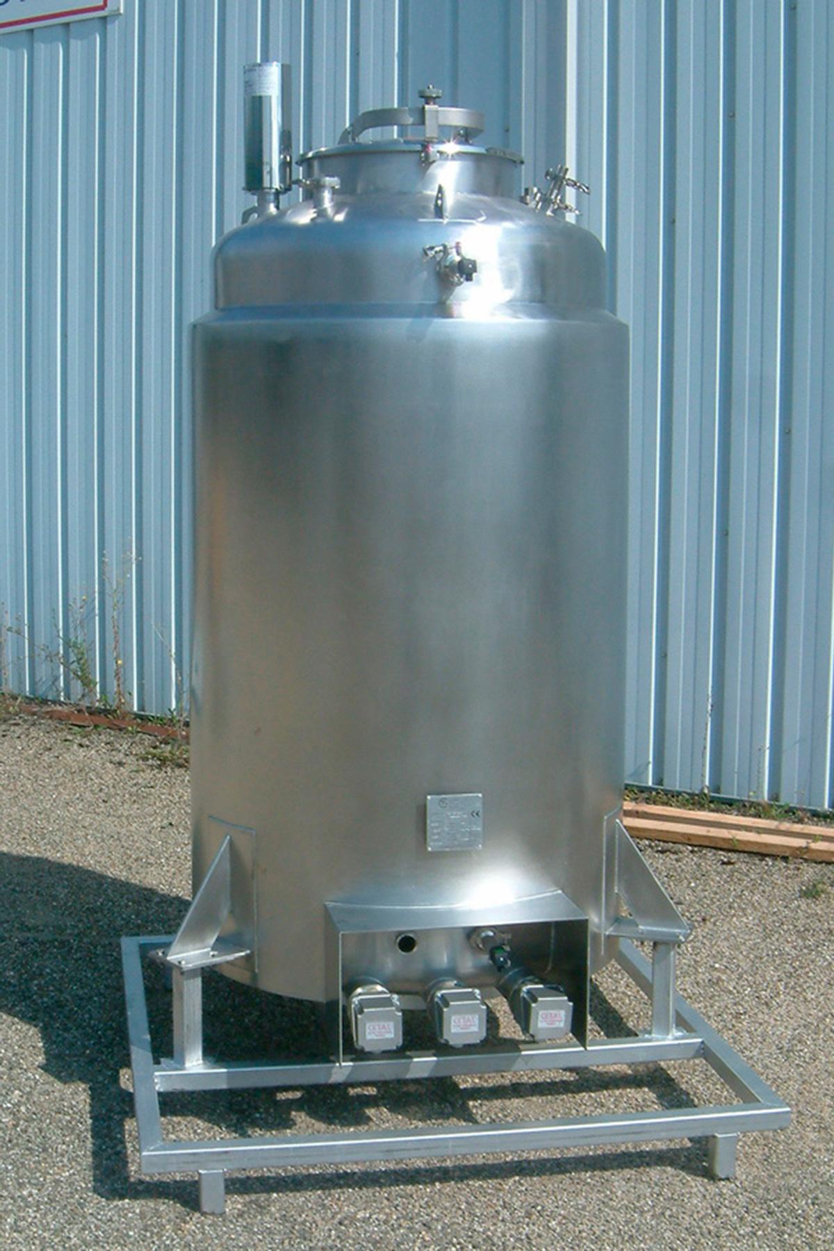 Cuve chauffante 1000 litres 1