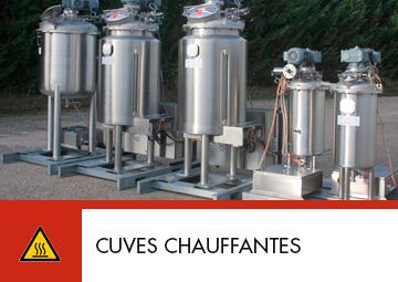 Cuves chauffantes Thitec production