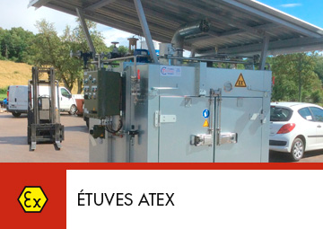 étuve atex Thitec production