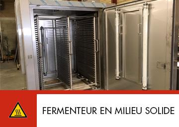 Fermenteur en milieu solide Thitec production