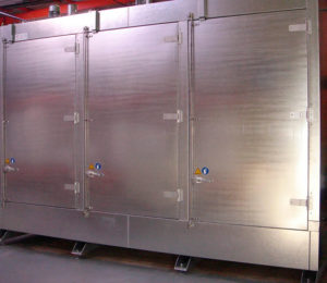 Chambre chaude 6 palettes Thitec production