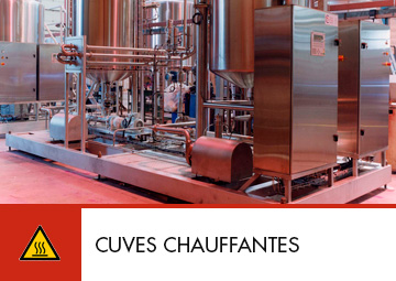Cuves chauffantes process Thitec