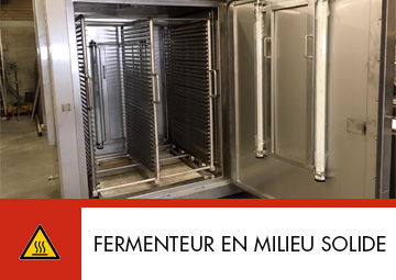 Fermenteur en milieu solide par Thitec production Beaune