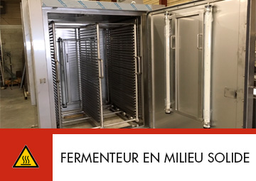 Fermenteur en milieu solide Thitec production